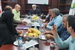 جلسه هیئت مدیره شرکت تعاونی شباهنگ