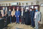 سپاس و قدر دانی فرماندار محترم جناب مهندس طاهری از اعضای هیات مدیره و مدیر عامل شرکت شباهنگ