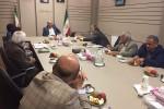 جلسه هم اندیشی همراه با  جناب آقای مهندس طاهری فرماندار شهرستان شهریار