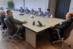 جلسه هم اندیشی مدیران عامل شرکت شباهنگ با حضور فرماندار محترم شهرستان شهریار