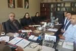 اولین جلسه شورا معاونین